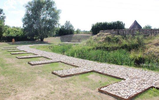 Nouveaux aménagements sur le site archéologique d'Orville